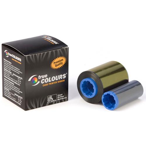Zebra i-Series White Monochrome Ribbon Cartridge for P1xx Printers (850 Prints)