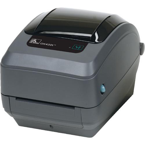 Zebra GK420t Thermal Transfer Advanced Desktop Printer with USB and Ethernet