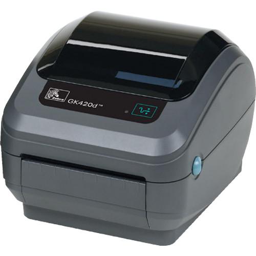 Zebra GK420t Thermal Transfer Advanced Desktop Printer with USB, RS-232 Serial & Parallel