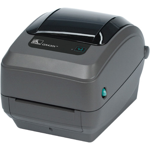 Zebra GX430t Thermal Transfer Performance Desktop Printer