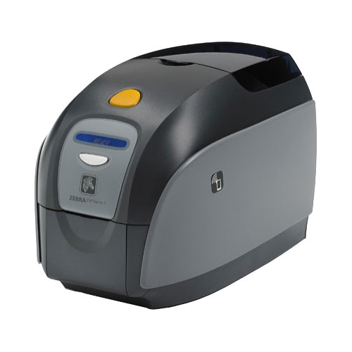 Zebra ZXP Series 1 Card Printer with ISO HiCo/LoCo Magnetic Encoder and 10/100 Ethernet Connectivity