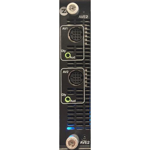 ZeeVee 2-Channel HD MPEG2 Digital Video Encoder/QAM Modulator