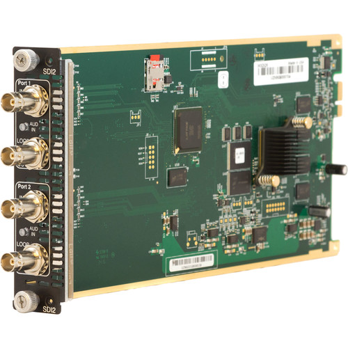 ZeeVee HD-SDI Media Module for HDbridge3000 Encoder