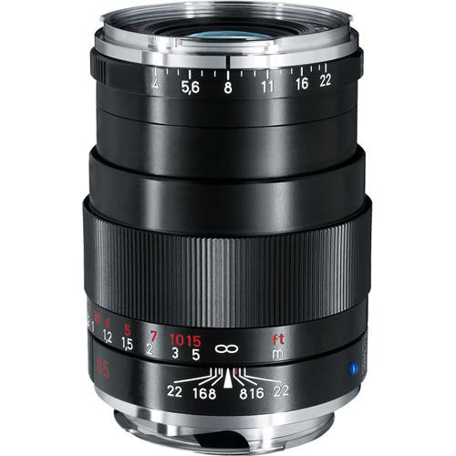 Zeiss 85mm f/4 Tele-Tessar T* ZM Manual Focus Lens - Black