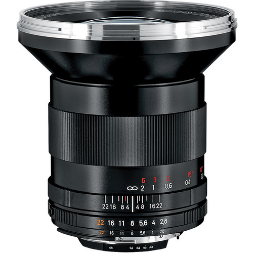 Zeiss Distagon T* 21mm F/2.8 ZF.2 Lens for Nikon F-Mount Cameras