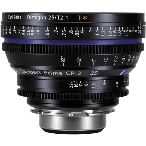 ZEISS CP.2 25mm T2.1 Compact Prime Lens (F Mount)