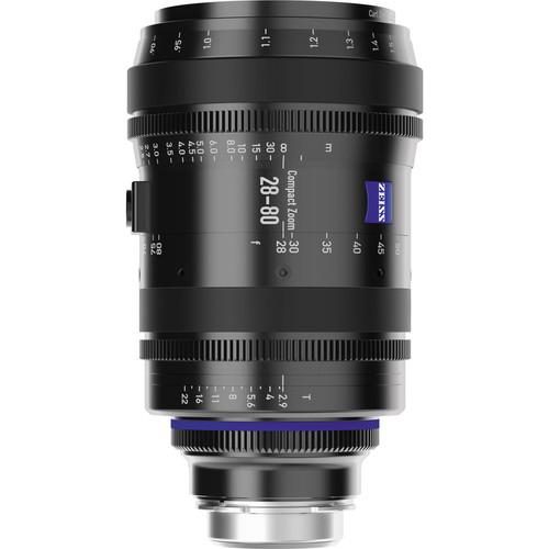 Zeiss 28-80mm T2.9 Compact Zoom CZ.2 Lens (MFT Mount)