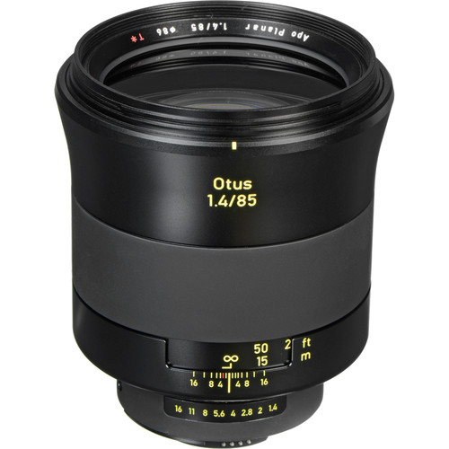 Zeiss Otus 85mm f/1.4 Apo Planar T* ZF.2 Lens for Nikon F Mount