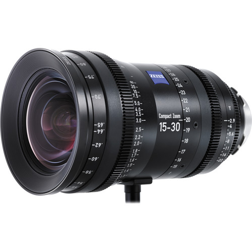 Zeiss 15 - 30mm CZ.2 Compact Zoom Lens (Canon EF Mount, Feet)