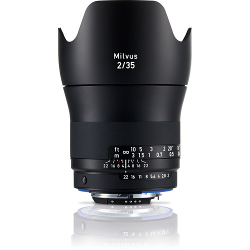 ZEISS Milvus 35mm f/2 ZF.2 Lens for Nikon F