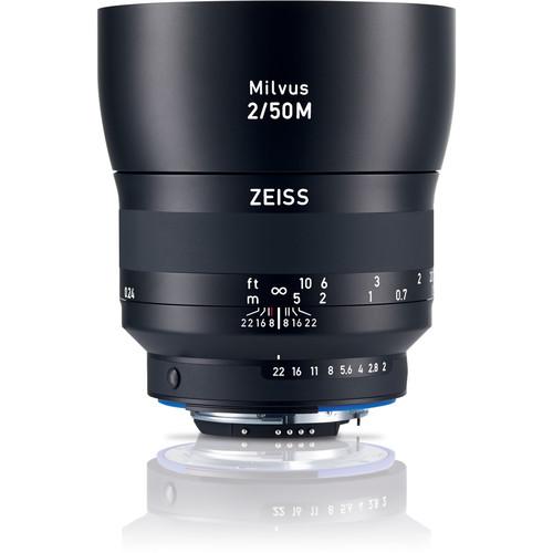 ZEISS Milvus 50mm f/2M ZF.2 Macro Lens for Nikon F