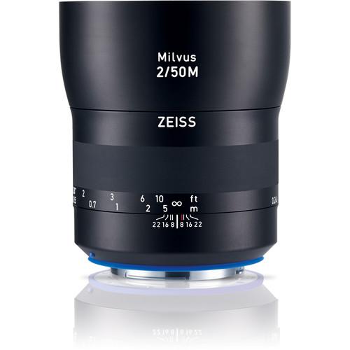 ZEISS Milvus 50mm f/2M ZE Macro Lens for Canon EF