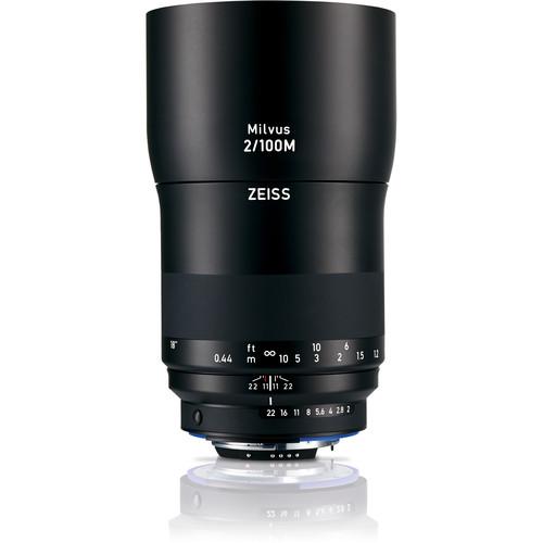 ZEISS Milvus 100mm f/2M ZF.2 Macro Lens for Nikon F