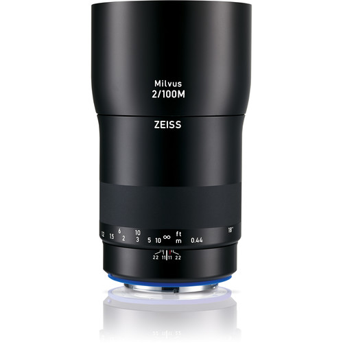 ZEISS Milvus 100mm f/2M ZE Lens for Canon EF
