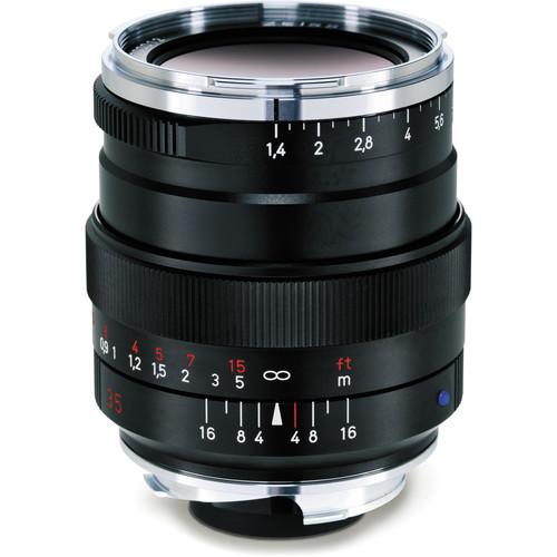 ZEISS Distagon T* 35mm f/1.4 ZM Lens (Black)