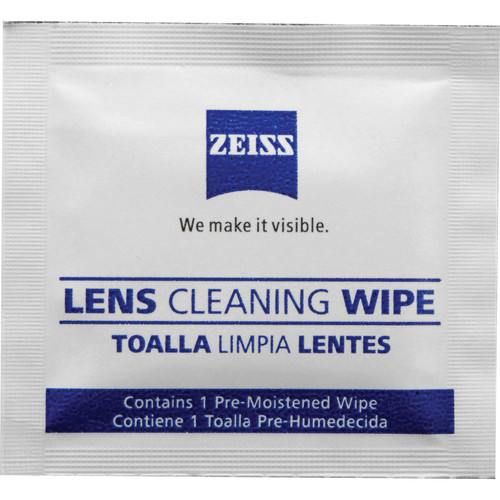 Zeiss Lens Wipes (60-Pack)