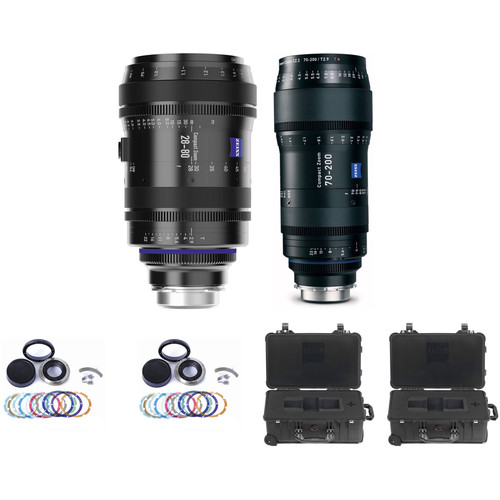 ZEISS T2.9 Compact Cine Zoom CZ.2 2-Lens Set #3 (PL Mount)