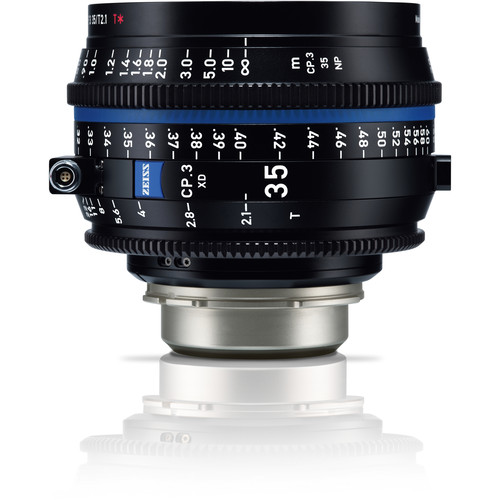 ZEISS CP.3 XD 35mm T2.1 Compact Prime Lens (PL Mount, Meters)