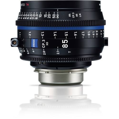 ZEISS CP.3 XD 85mm T2.1 Compact Prime Lens (PL Mount, Meters)
