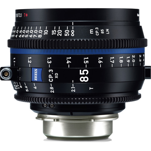 ZEISS CP.3 XD 85mm T2.1 Compact Prime Lens (PL Mount, Feet)