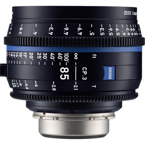 Zeiss CP.3 85mm T2.1 Compact Prime Lens (MFT Mount, Meters)