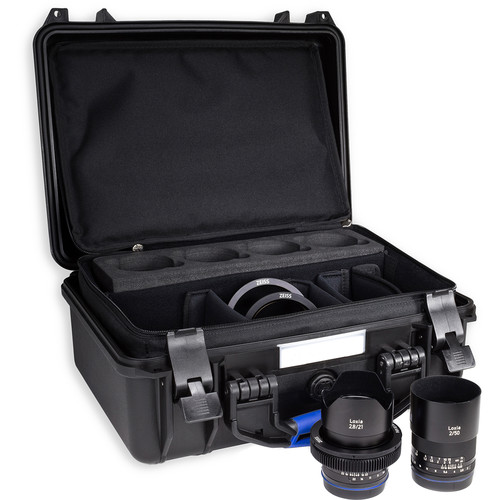 ZEISS Loxia Bundle with 21mm and 50mm Lenses for Sony E