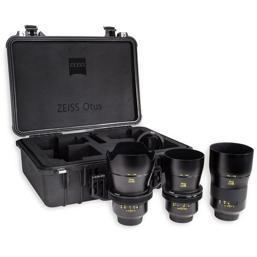 ZEISS Otus ZE Bundle with 28mm, 55mm, and 85mm Lenses for Canon EF