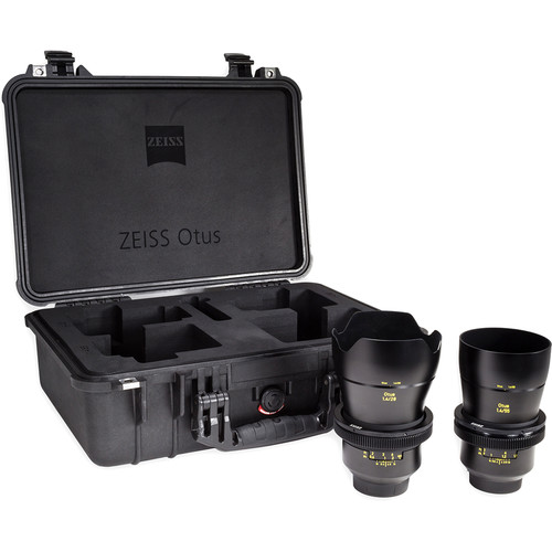 Zeiss Otus ZE Bundle with 28mm and 55mm Lenses for Canon EF