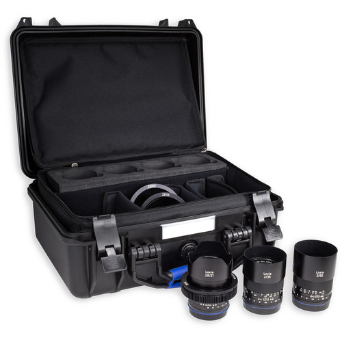 Zeiss Loxia Bundle with 21mm, 35mm, 50mm, and 85mm Lenses for Sony E