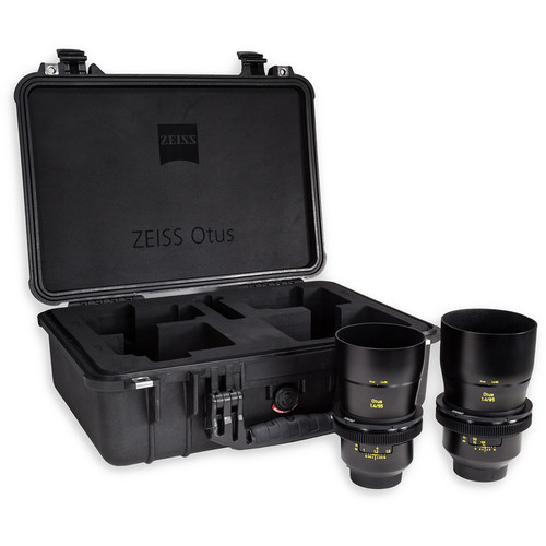 ZEISS Otus ZE Bundle with 55mm and 85mm Lenses for Canon EF