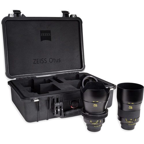 Zeiss Otus ZF.2 Bundle with 28mm and 85mm Lenses for Nikon F