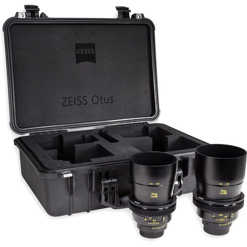 Zeiss Otus ZF.2 Bundle with 55mm and 85mm Lenses for Nikon F