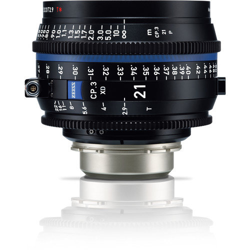 ZEISS CP.3 XD 21mm T2.9 Compact Prime Lens (PL Mount, Meters)