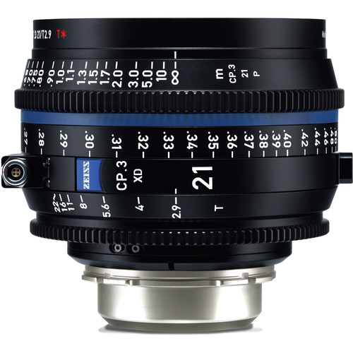 ZEISS CP.3 XD 21mm T2.9 Compact Prime Lens (PL Mount, Feet)
