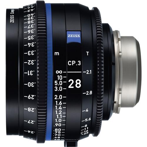ZEISS CP.3 28mm T2.1 Compact Prime Lens (MFT Mount, Meters)