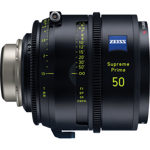 ZEISS Supreme Prime 50mm T1.5 (Meters, PL Mount)
