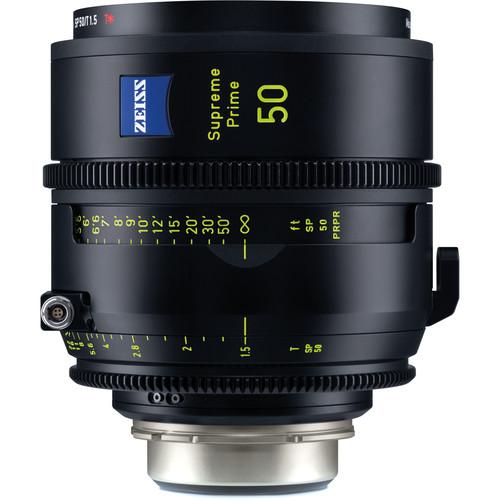 ZEISS Supreme Prime 50mm T1.5 (Feet, PL Mount)