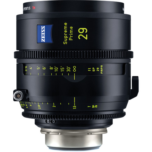 ZEISS Supreme Prime 29mm T1.5 (Feet, PL Mount)