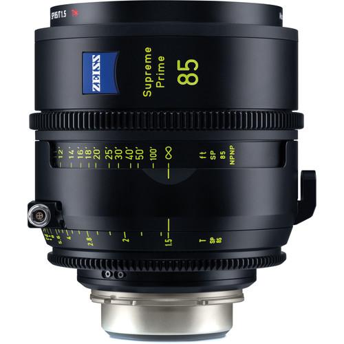 ZEISS Supreme Prime 85mm T1.5 (Feet, PL Mount)