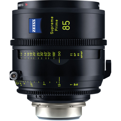 ZEISS Supreme Prime 85mm T1.5 (Feet, PL Mount)