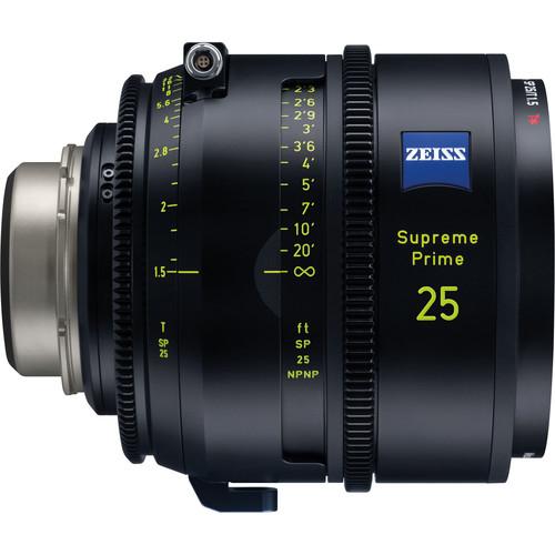 ZEISS Supreme Prime 25mm T1.5 (Meter, PL Mount)