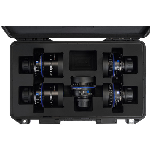 ZEISS Premium PELI Air Case for CP.3 5-Lens Set