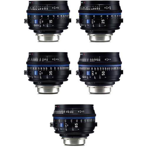 ZEISS CP.3 XD 5-Lens Set (PL Mount)