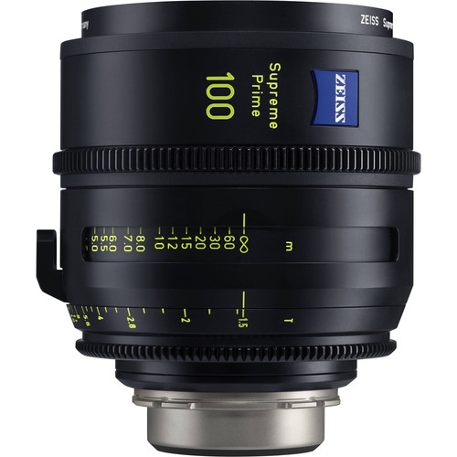 ZEISS Supreme Prime 100mm T1.5 (Feet, PL Mount)