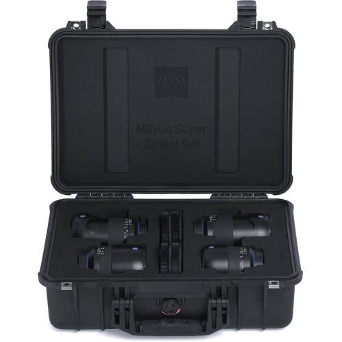 ZEISS Milvus ZE Super Speed 4-Lens Bundle for Canon EF
