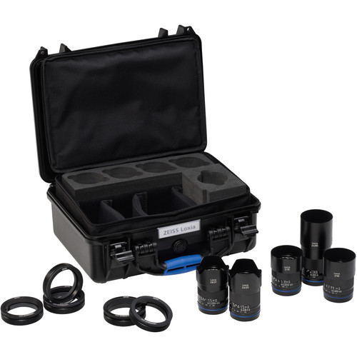 ZEISS Loxia Five Lens Bundle for Sony E
