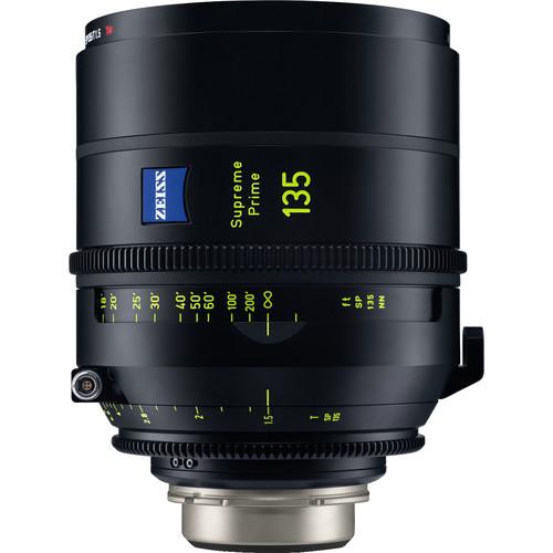 ZEISS Supreme Prime 135mm T1.5 Lens (Feet, PL Mount)
