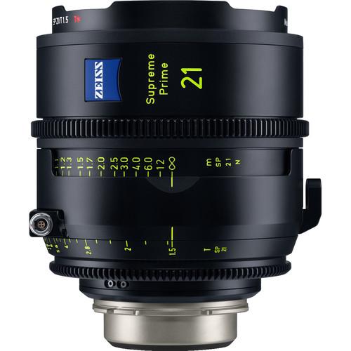 ZEISS Supreme Prime 21mm T1.5 Lens (Feet, PL Mount)