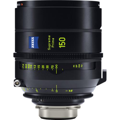 ZEISS Supreme Prime 150mm T1.8 Lens (PL Mount, Meters)