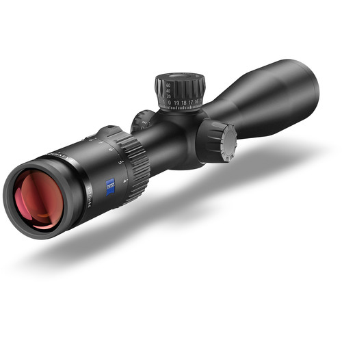 ZEISS 4-16x44 Conquest V4 Side Focus Riflescope (ZBR-2 Reticle 92, Matte Black)